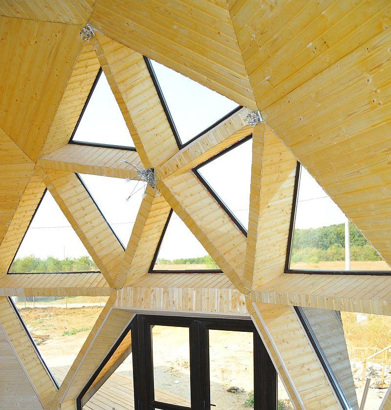 adelaparvu.com despre case tip domuri geodezice, casa dom geodezic, design ing. Alexandru Dinulescu (28)