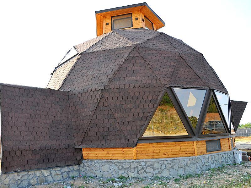 adelaparvu.com despre case tip domuri geodezice, casa dom geodezic, design ing. Alexandru Dinulescu (30)