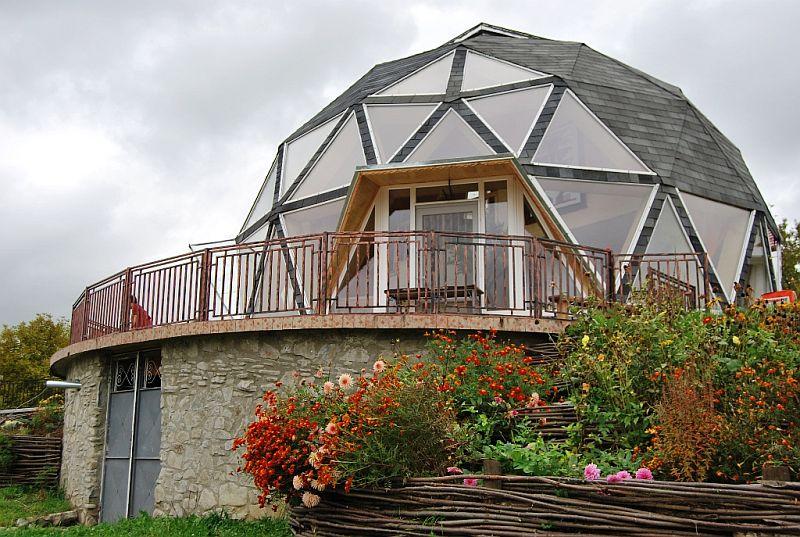adelaparvu.com despre case tip domuri geodezice, casa dom geodezic, design ing. Alexandru Dinulescu (32)