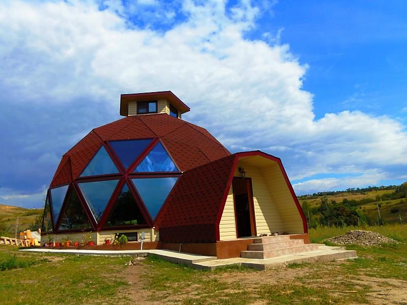 adelaparvu.com despre case tip domuri geodezice, casa dom geodezic, design ing. Alexandru Dinulescu (37)