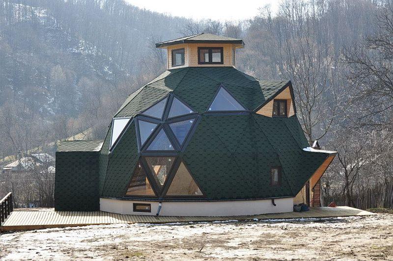 adelaparvu.com despre case tip domuri geodezice, casa dom geodezic, design ing. Alexandru Dinulescu (8)