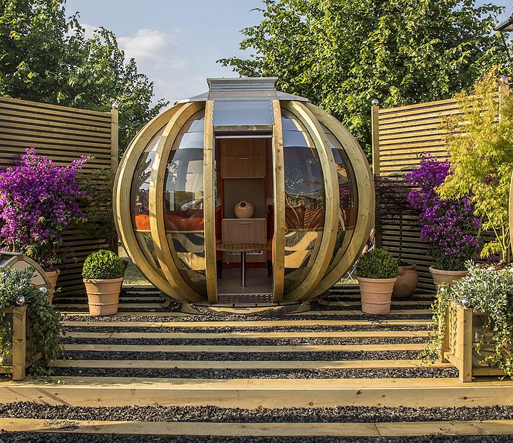 adelaparvu.com despre casute de gradina sferice care se rotesc, design Ornate Garden (1)