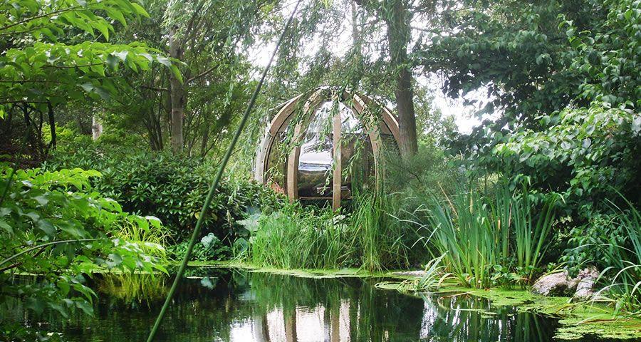adelaparvu.com despre casute de gradina sferice care se rotesc, design Ornate Garden (10)