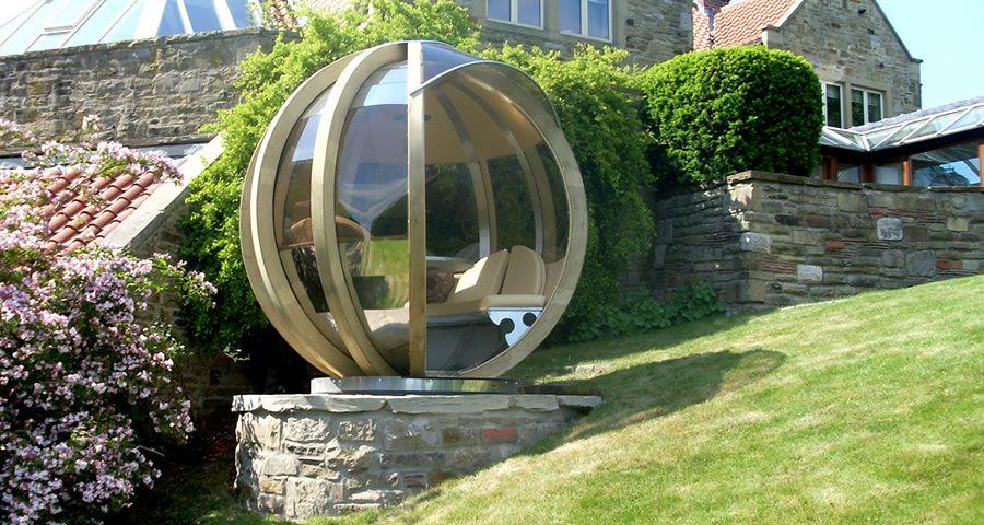 adelaparvu.com despre casute de gradina sferice care se rotesc, design Ornate Garden (12)