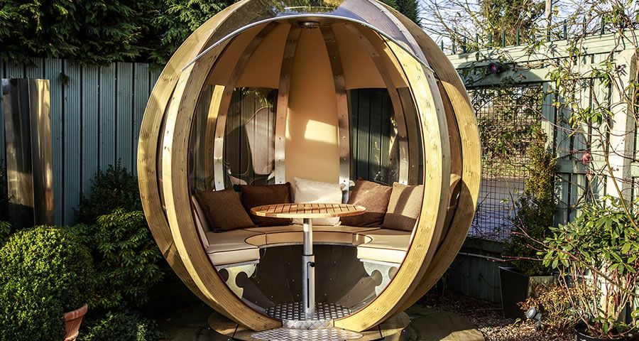 adelaparvu.com despre casute de gradina sferice care se rotesc, design Ornate Garden (14)