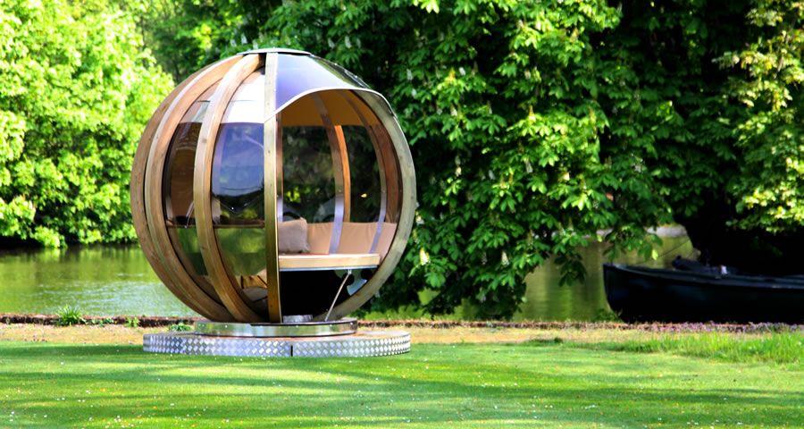 adelaparvu.com despre casute de gradina sferice care se rotesc, design Ornate Garden (16)
