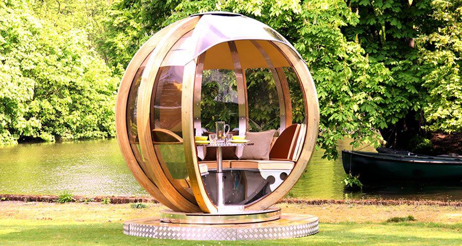 adelaparvu.com despre casute de gradina sferice care se rotesc, design Ornate Garden (19)