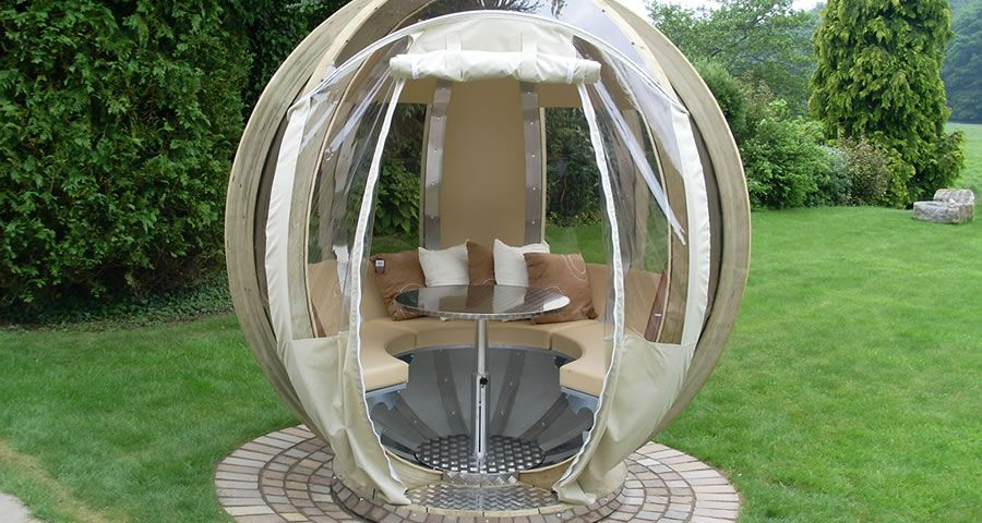 adelaparvu.com despre casute de gradina sferice care se rotesc, design Ornate Garden (20)