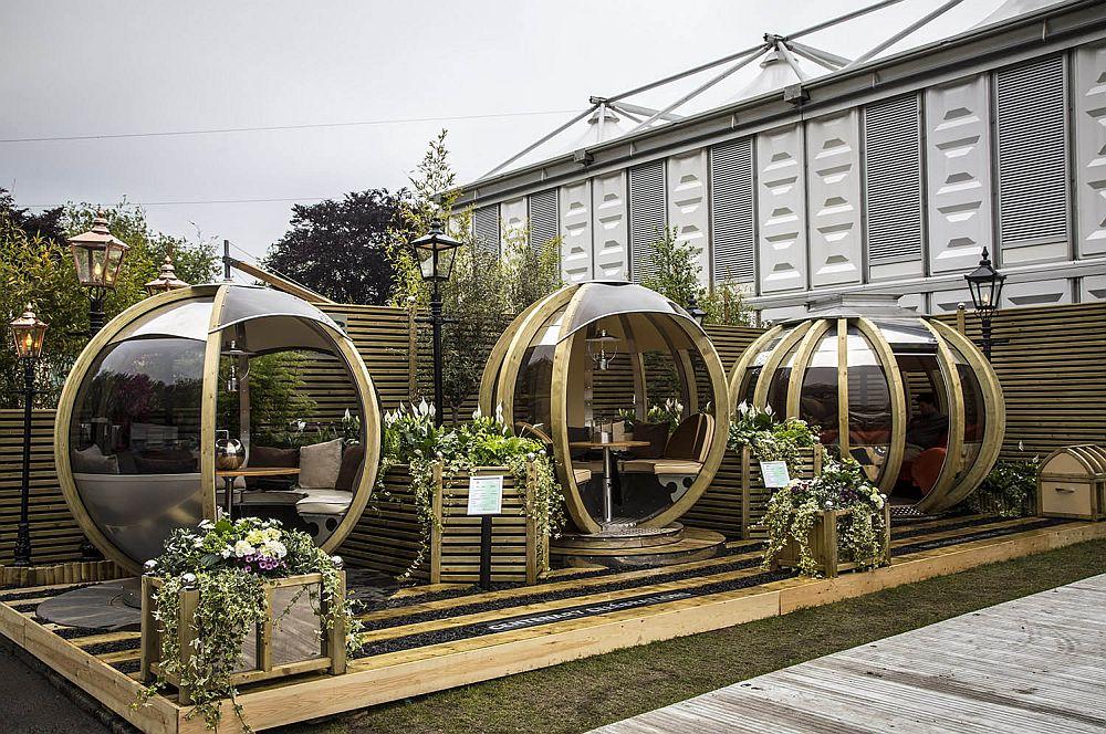 adelaparvu.com despre casute de gradina sferice care se rotesc, design Ornate Garden (21)