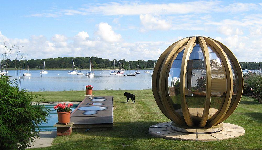adelaparvu.com despre casute de gradina sferice care se rotesc, design Ornate Garden (3)