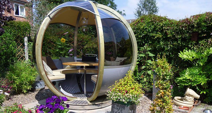 adelaparvu.com despre casute de gradina sferice care se rotesc, design Ornate Garden (4)