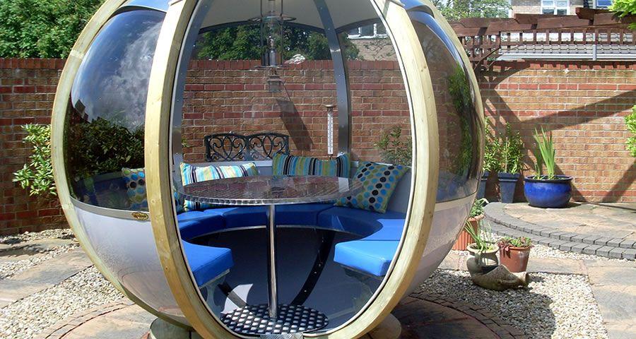 adelaparvu.com despre casute de gradina sferice care se rotesc, design Ornate Garden (5)