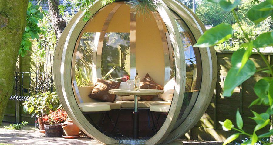adelaparvu.com despre casute de gradina sferice care se rotesc, design Ornate Garden (8)