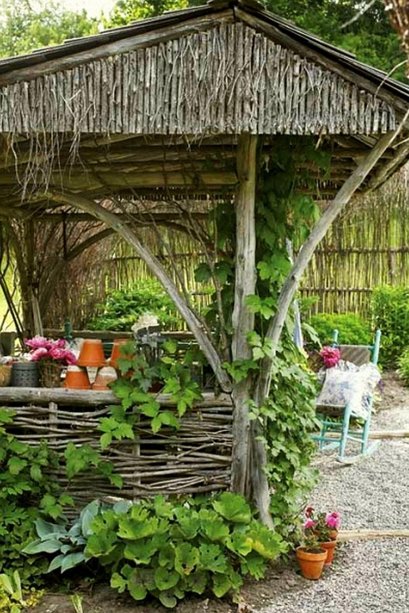 adelaparvu.com despre chiosc rustic de gradina, Foto Robin Stubbert Gap Interiors (1)