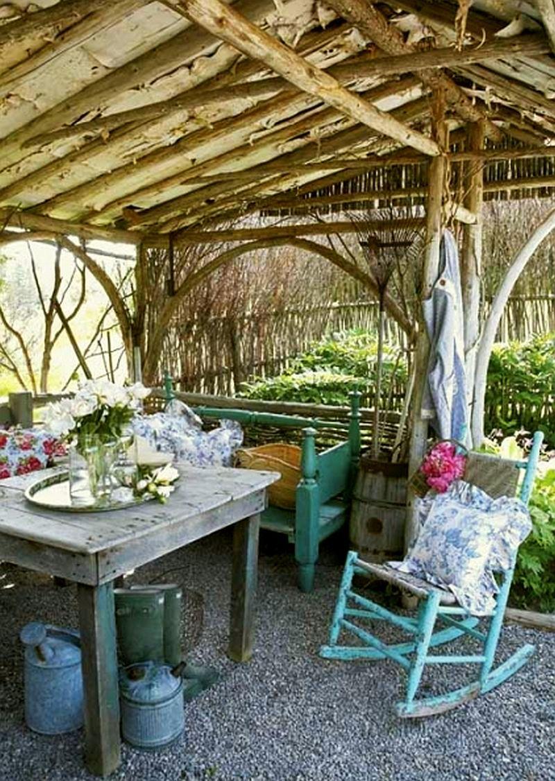 adelaparvu.com despre chiosc rustic de gradina, Foto Robin Stubbert Gap Interiors (5)