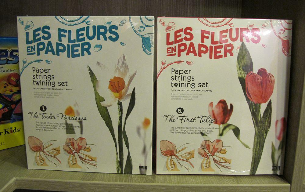 Kit de creativitate cum sa faci o flori de hartie