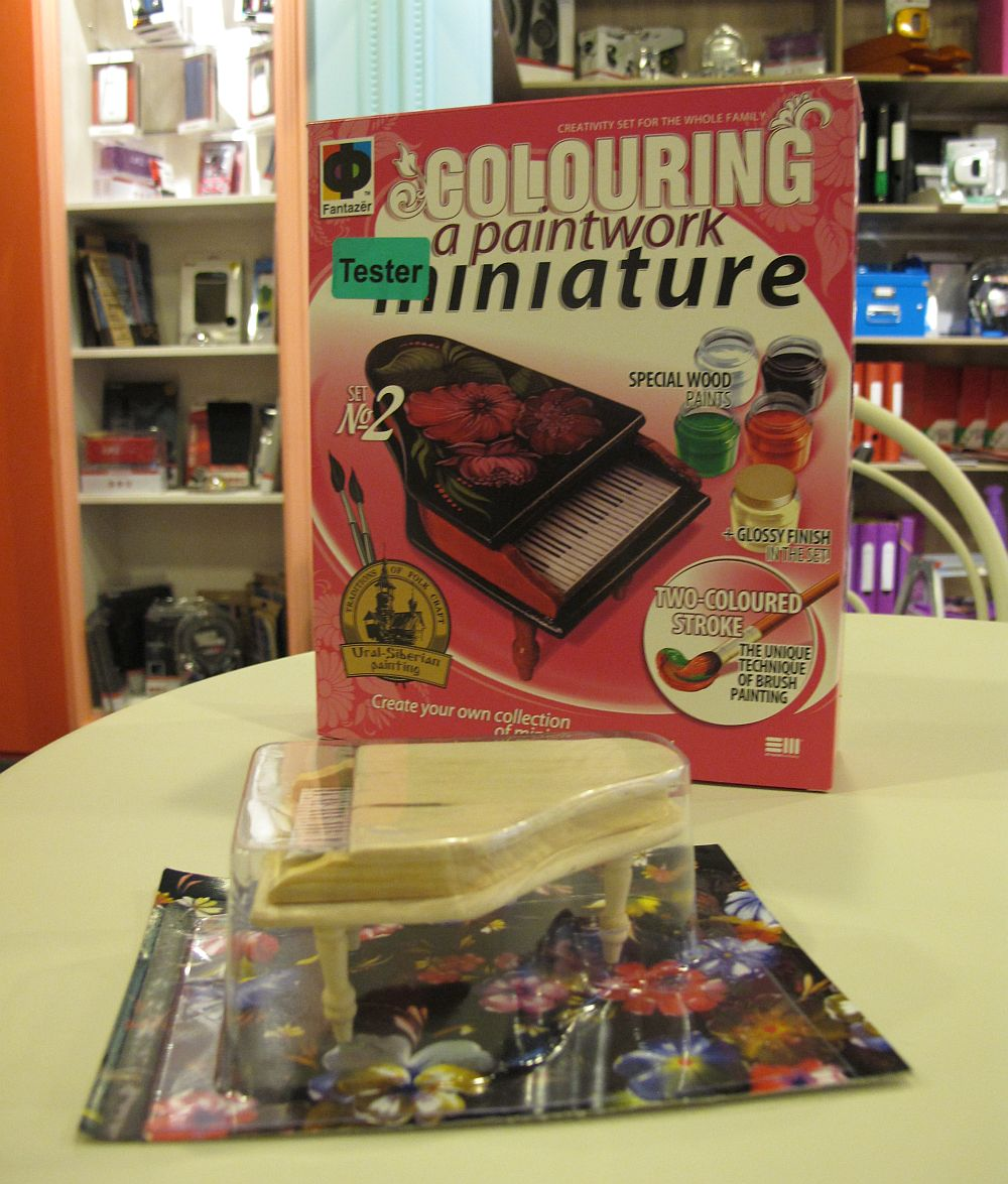Kit de creativitate cu pian miniatural