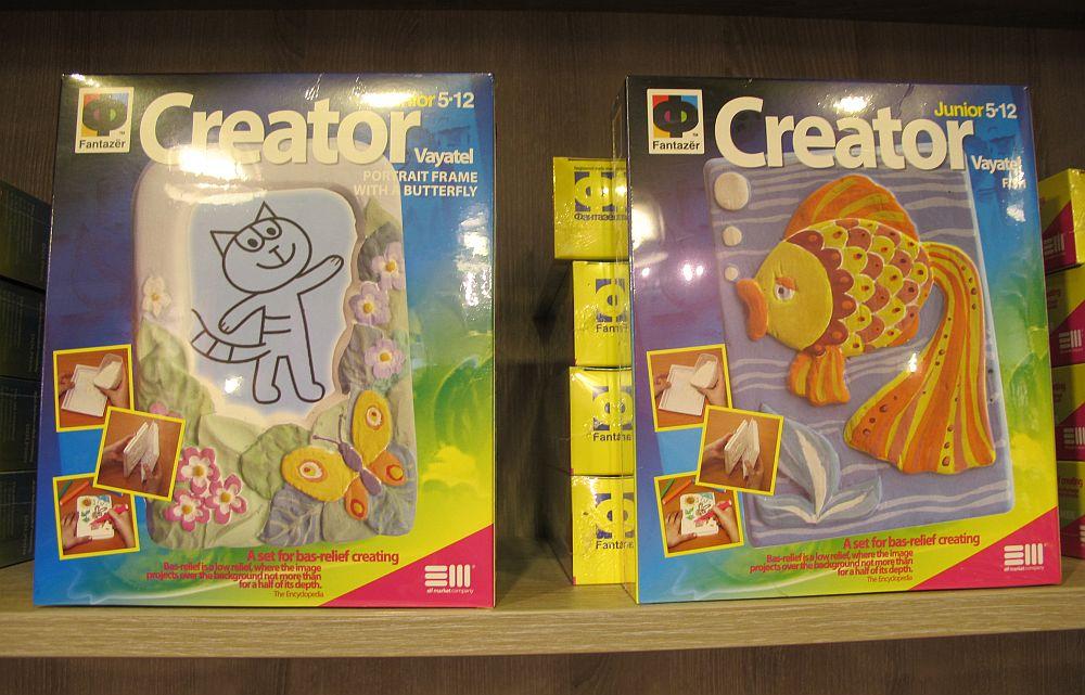 Kituri de creativitate cu figurine din ispos