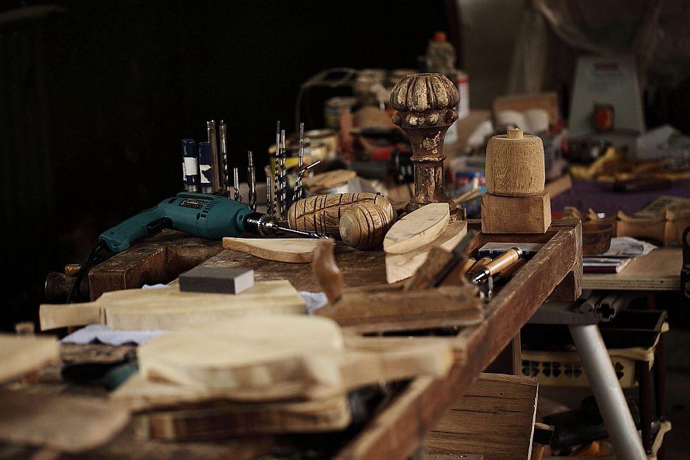 adelaparvu.com despre farfurii, boluri lemn, sfesnice lemn, sculpturi lemn, design Love Things, artist Florin Constantinescu (41)