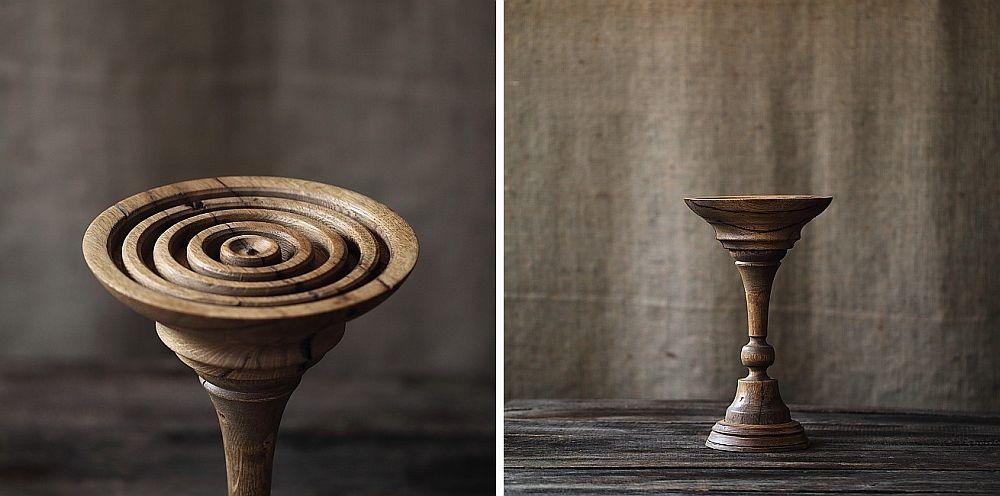 adelaparvu.com despre farfurii, boluri lemn, sfesnice lemn, sculpturi lemn, design Love Things, artist Florin Constantinescu (57)