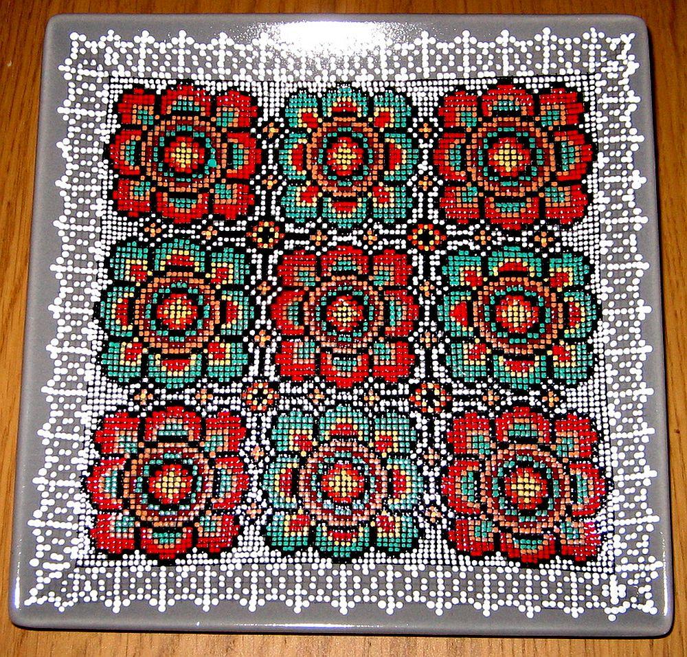 adelaparvu.com despre farfurii si bijuterii pictate cu motive traditionale romanesti, artisti Carmina si Peter Brancoveanu, Romania craftsmen (1)