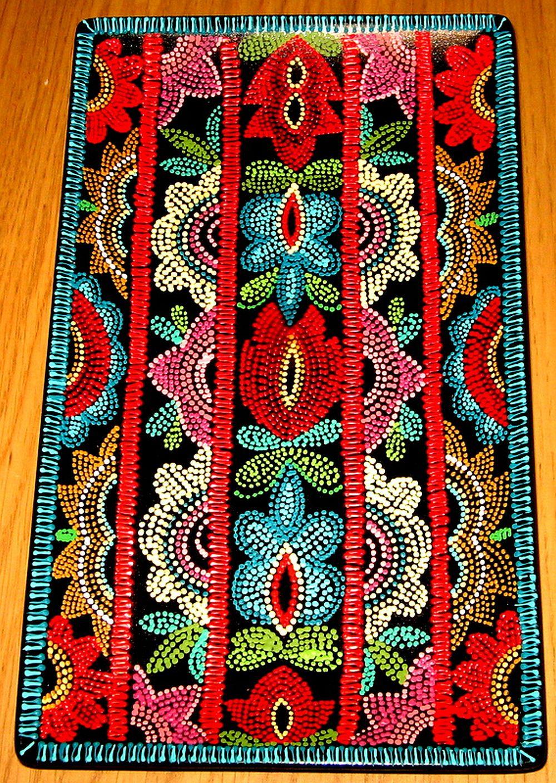 adelaparvu.com despre farfurii si bijuterii pictate cu motive traditionale romanesti, artisti Carmina si Peter Brancoveanu, Romania craftsmen (3)