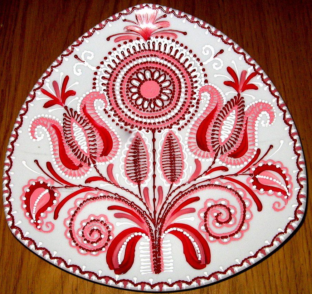 adelaparvu.com despre farfurii si bijuterii pictate cu motive traditionale romanesti, artisti Carmina si Peter Brancoveanu, Romania craftsmen (4)