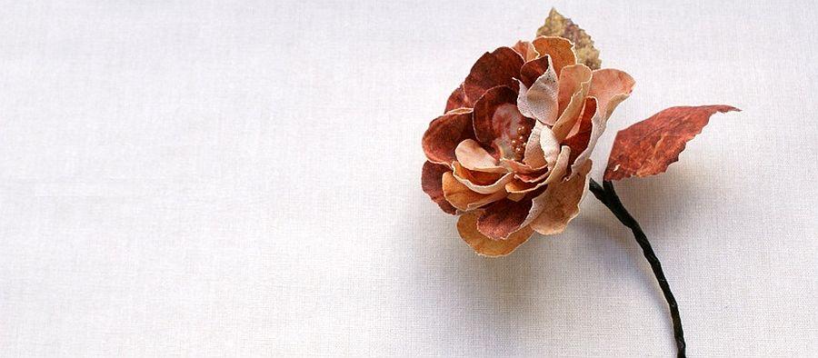 adelaparvu.com despre flori, frunze, pene de bumbac imprimate cu imagini vintage, artist Miranda van Dijk, Puur Anders (18)