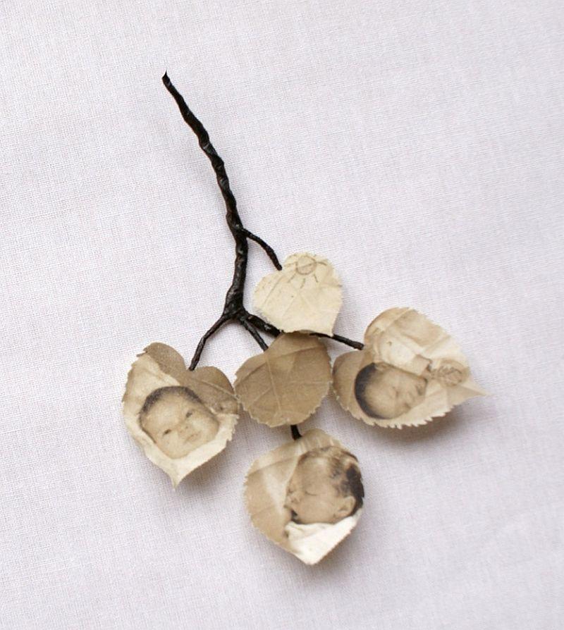 adelaparvu.com despre flori, frunze, pene de bumbac imprimate cu imagini vintage, artist Miranda van Dijk, Puur Anders (27)