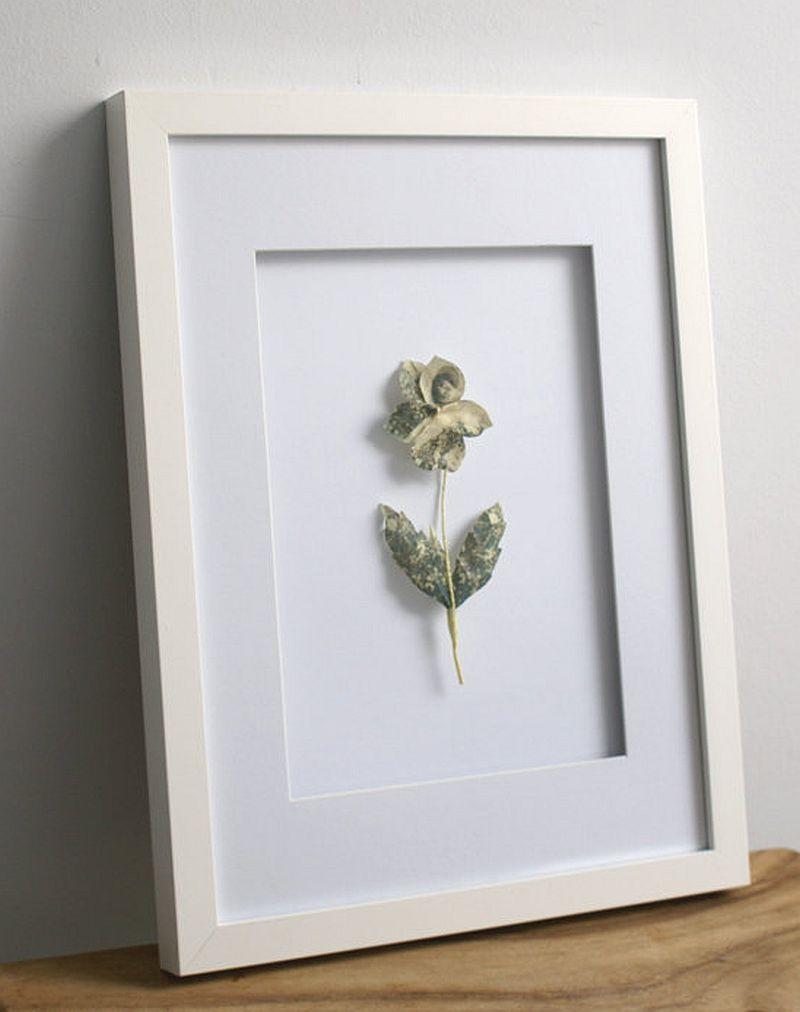 adelaparvu.com despre flori, frunze, pene de bumbac imprimate cu imagini vintage, artist Miranda van Dijk, Puur Anders (29)