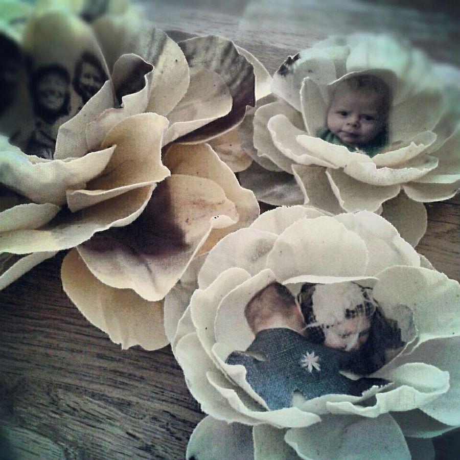 adelaparvu.com despre flori, frunze, pene de bumbac imprimate cu imagini vintage, artist Miranda van Dijk, Puur Anders (3)