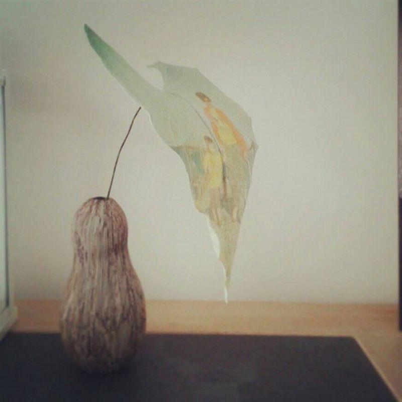 adelaparvu.com despre flori, frunze, pene de bumbac imprimate cu imagini vintage, artist Miranda van Dijk, Puur Anders (39)