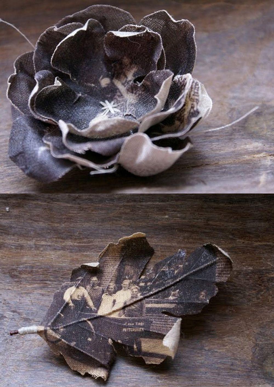 adelaparvu.com despre flori, frunze, pene de bumbac imprimate cu imagini vintage, artist Miranda van Dijk, Puur Anders (41)