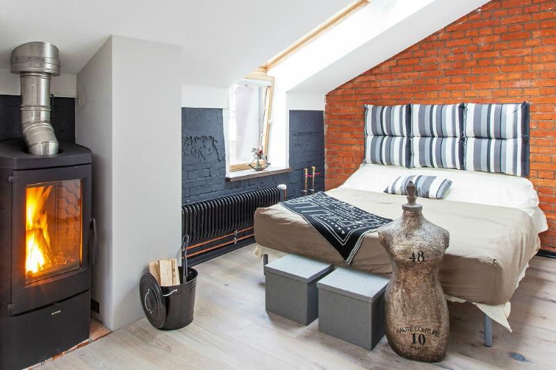 adelaparvu.com despre garsoniera 40 de mp la mansarda, design interior Au Room (10)