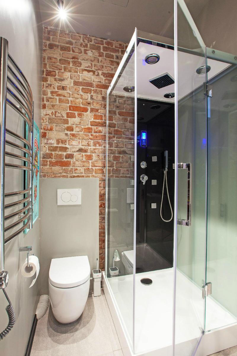 adelaparvu.com despre garsoniera 40 de mp la mansarda, design interior Au Room (11)