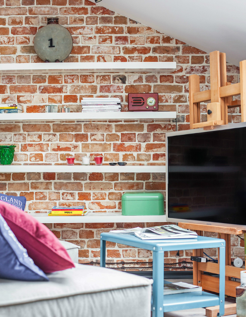 adelaparvu.com despre garsoniera 40 de mp la mansarda, design interior Au Room (4)