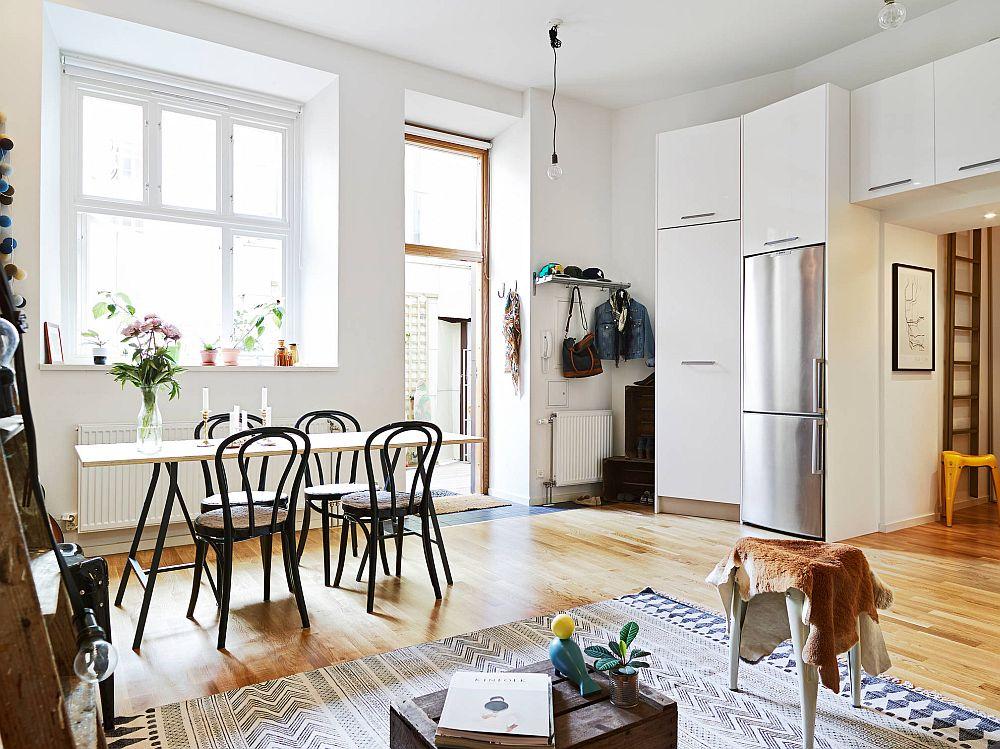 adelaparvu.com despre garsoniera de 32 mp cu loc de dormit la etaj, Foto Stadshem (14)