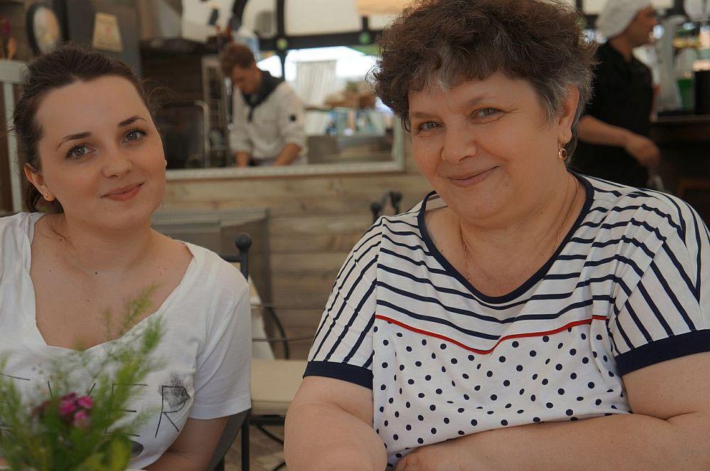 Sânziana și mama ei Cati