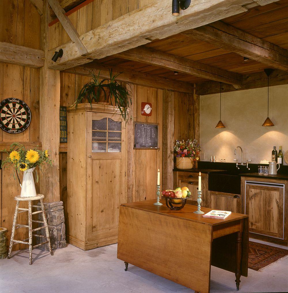 adelaparvu.com despre hambar transformat in casa de vacanta, casa din lemn, casa americana, casa SUA, design Miller Architects (6)