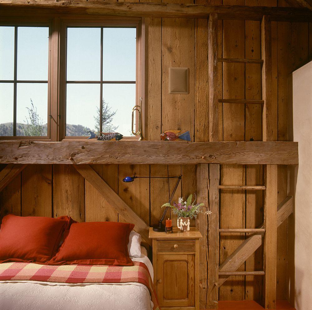 adelaparvu.com despre hambar transformat in casa de vacanta, casa din lemn, casa americana, casa SUA, design Miller Architects (7)