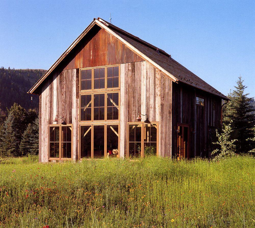 adelaparvu.com despre hambar transformat in casa de vacanta, casa din lemn, casa americana, casa SUA, design Miller Architects (9)