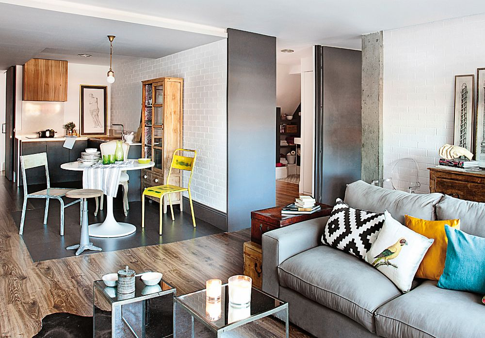 adelaparvu.com despre locuinta amenajata ca un loft, apartament Madrid, designer Maria Lopez (3)