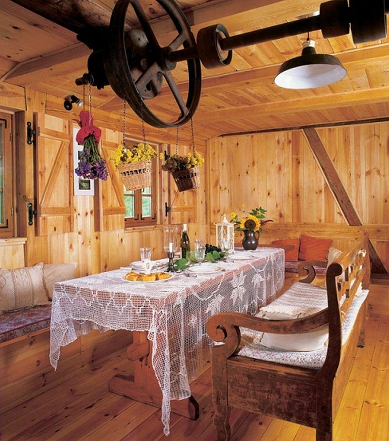 adelaparvu.com despre moara transformata in casa de vacanta, casa Polonia, Foto Joanna Siedlar (11)
