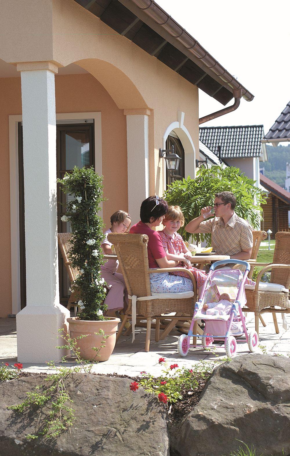 adelaparvu.com despre model de casa mediteraneana 136 mp, model Bonita, varianta 156, Hanse Haus, Germania (3)