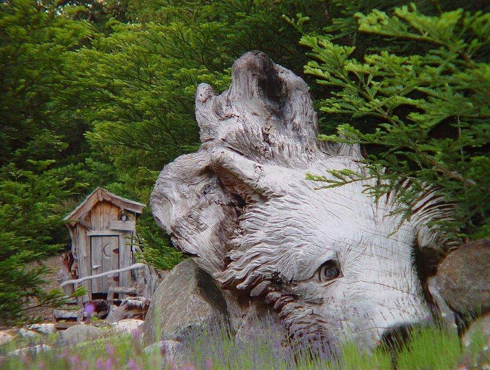 adelaparvu.com despre sculpturi cu drujba Steve Blanchard (14)