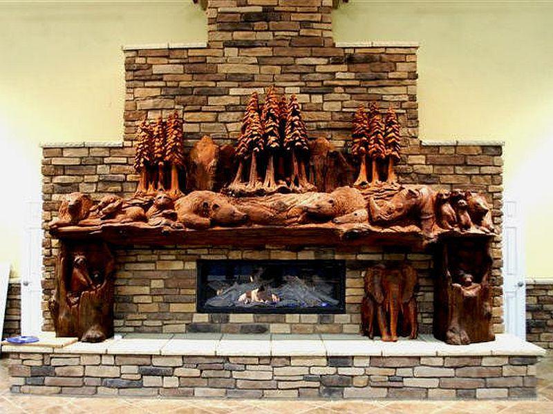 adelaparvu.com despre sculpturi cu drujba Steve Blanchard