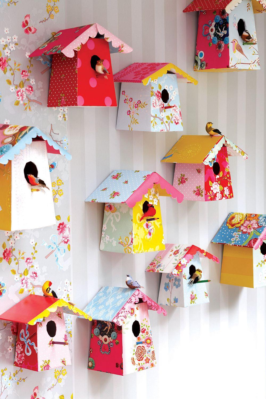 adelaparvu.com despre tapete Paper-Bird-Houses-Pip Studio
