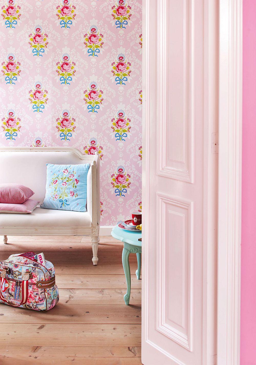 adelaparvu.com despre tapete Pip_ShabbyChic_pink-Pip Studio