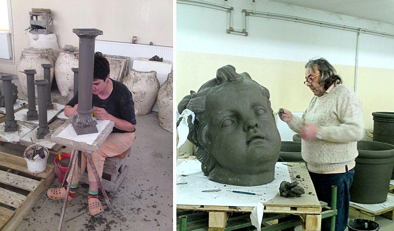 adelaparvu.com despre vase, ghivece, statuete, jardiniere din teracota, design Terecote, Sighisoara (13)