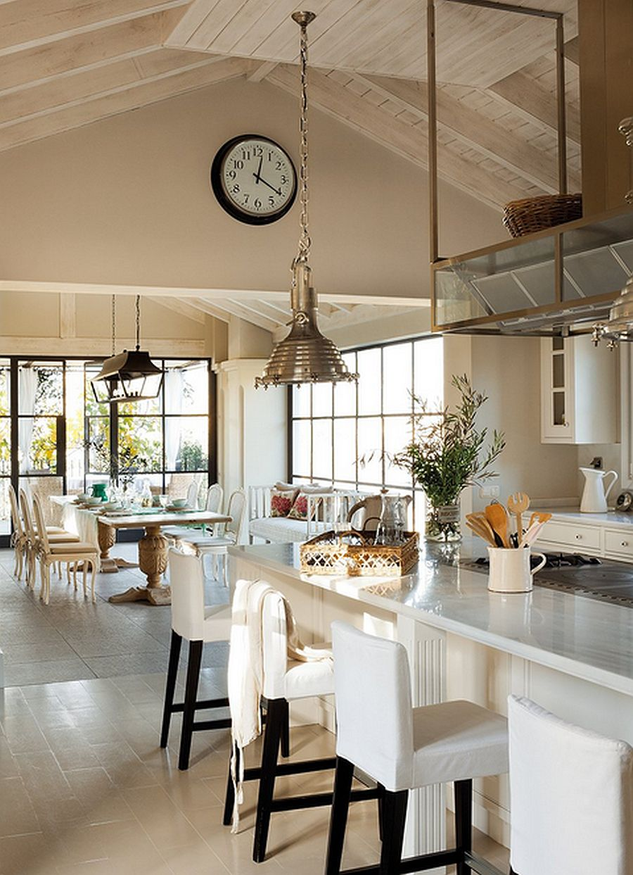 adelaparvu.com casa in stil mediteranean combinat cu stil nordic,casa Marbella, Spania, Foto El Mueble, design Cesar de Leyva (8)